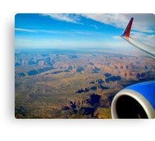 Soaring Over Arizona Canvas Print