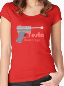 Tesla Deathrays, TDR-34 Women's Fitted Scoop T-Shirt