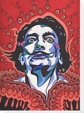 Salvador Dali II by Angelique Moselle Price