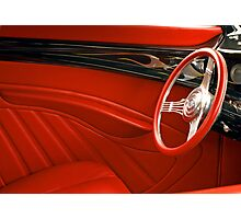 Retro Red. Photographic Print