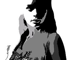 Khaleesi Face Design by Costa Kyriacou