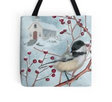 Winter Scene I Tote Bag