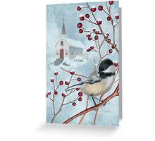 Winter Scene I Greeting Card