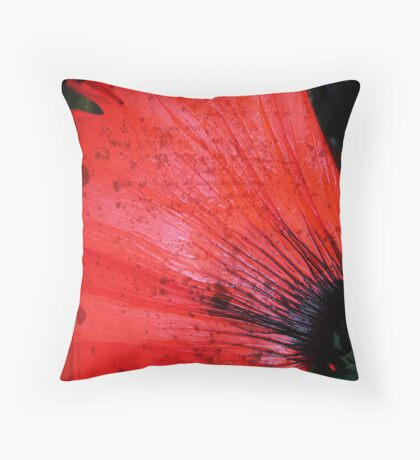 Book Flower Throw Pillow