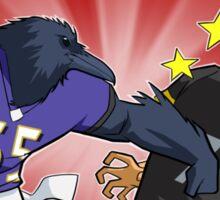 Ravens vs Steelers Sticker