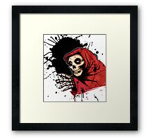 CRIMSON GHOST COLORED Framed Print