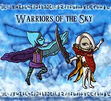 Toon Warriors of the Sky by skywaker