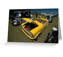 Little Yellow Taxi, Evans Head Fly-In, NSW Greeting Card