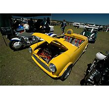Little Yellow Taxi, Evans Head Fly-In, NSW Photographic Print