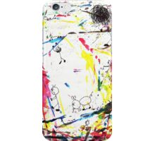 They enjoy the color attack! iPhone Case/Skin