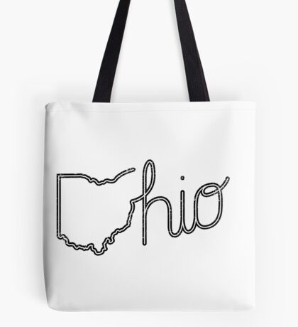 O-hio (Black Print) Tote Bag