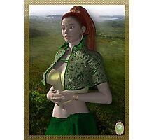 Dymphna-Celtic Princess Photographic Print