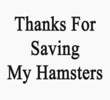 Thanks For Saving My Hamsters  by supernova23