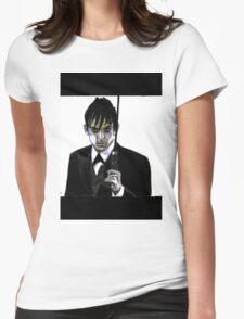 Gotham Oswald Cobblepot Robin Lord Taylor Womens Fitted T-Shirt