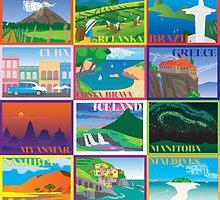 2015 Travel Calendar by pollybeam