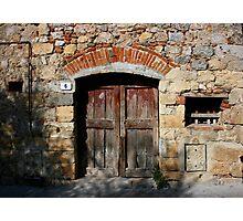 Near Siena Photographic Print