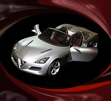 ¸.•*´♥`*•. PROTO TYPE CAR ALFA ROMEO CAR @ DETROIT CAR SHOW PILLOW,TOTE BAG,PICTURE ECT ¸.•*´♥`*•. by ✿✿ Bonita ✿✿ ђєℓℓσ