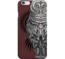 Geo Owl iPhone Case/Skin