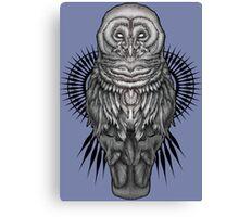 Geo Owl Canvas Print