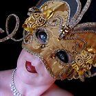Venician mask by Daniella