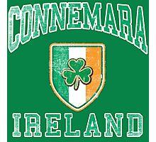 Connemara, Ireland with Shamrock Photographic Print