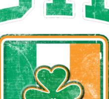 Cork, Ireland with Shamrock Sticker