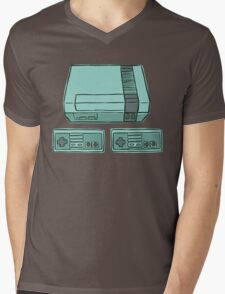 NES time! Mens V-Neck T-Shirt