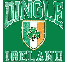 Dingle, Ireland with Shamrock Photographic Print