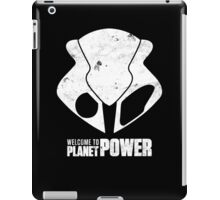 Welcome to Planet Power iPad Case/Skin