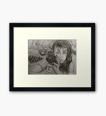 catch the wind . . . Framed Print