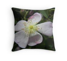 wildly rose Throw Pillow