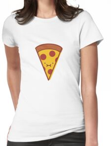 Pepperoni Pizza Slice - I'm Stuffed! Womens Fitted T-Shirt