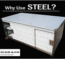 Why Use STEEL? by MicahAndCo