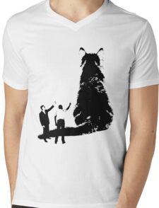 Look at That Cat Mens V-Neck T-Shirt