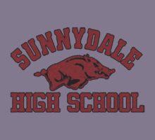Sunnydale High Razorbacks Kids Clothes