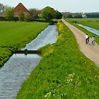 Cycling home in polderland by jchanders