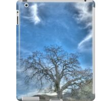 oak tree, landscape photography iPad Case/Skin