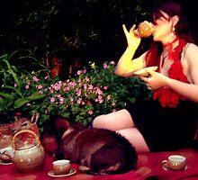titania pretty fairy tea party dress by Katrina Borroff