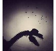 Dino in the City Photographic Print