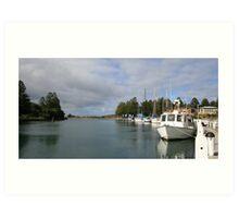 Port Fairy Harbour, Victoria Art Print