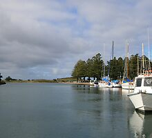 Port Fairy Harbour, Victoria by Leigh Penfold