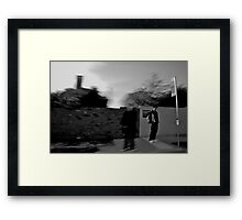 Walking with Ghosts Framed Print