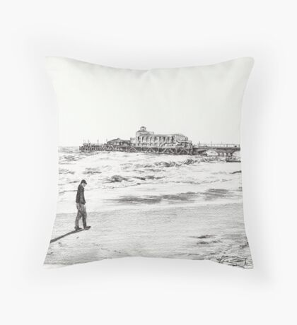 'Lonely' Throw Pillow