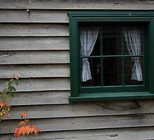 Window at Sovereign Hill, Ballarat by Leigh Penfold
