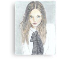 The Girl from Next Door Canvas Print