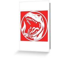Tyrannosaurus! Greeting Card