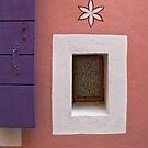 SMALL WINDOW IN CAORLE  by June Ferrol
