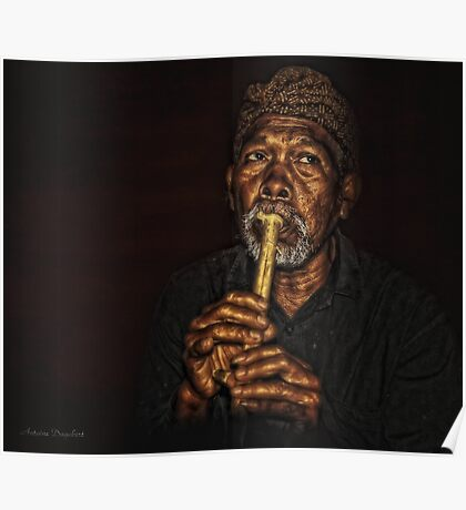 The Balinese Musician Poster