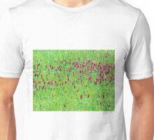 Red Clover Field of Texas & Arkansas Unisex T-Shirt