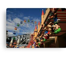 Colours of Luna Park, Sydney Canvas Print
